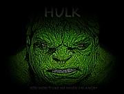 Hulk Custom  Print by Movie Poster Prints