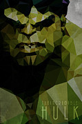 Incredible Hulk Framed Prints - Hulk Framed Print by Daniel Hapi