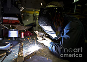Featured Art - Hull Maintenance Technician Strikes by Stocktrek Images