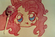 My Little Pony Drawings - Human Pinkie Pie by Dianna Rochelle