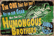 Jq Painting Prints - Humongous Brothers Print by JQ Licensing