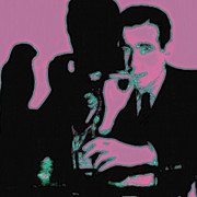 Bay Area Digital Art - Humphrey Bogart and The Maltese Falcon 20130323m138 Square by Wingsdomain Art and Photography