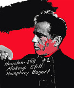 Humphrey Bogart The Maltese Falcon Makeup Photo Print by David Lee Guss