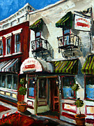 Grill Paintings - Humphreys Bar and Grill by Carole Foret