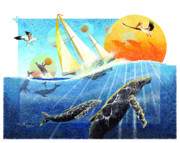 Whale Originals - Humps in the Sea by David  Chapple