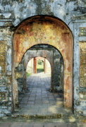 Hung Prints - Hung Temple Arches Print by Rick Piper Photography