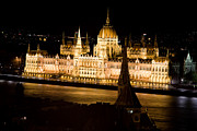 Panorama Art - Hungarian parliament in Budapest by Michal Bednarek