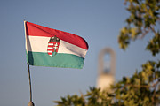 Odon Czintos - Hungary flag waving on...
