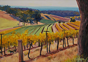 Award Painting Originals - Hunter Vally Australia by Ray  Baxter