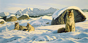 Hunter's Rest Print by Paul Krapf