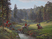 Hounds Originals - Hunting with hounds by Korobkin Anatoly
