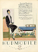 Hupmobile 1929 1920s Usa Cc Cars Womens Print by The Advertising Archives
