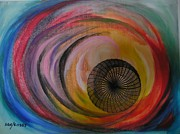 Huracan Print by Sonia Rodriguez