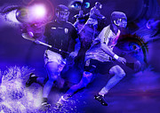 Hurling Prints - Hurling Print by Keith Double