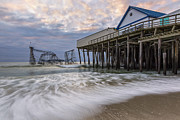 Jet Star Photo Metal Prints - Hurricane Sandy Metal Print by Mike Orso
