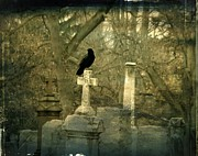 Graveyard Digital Art - Hush by Gothicolors And Crows