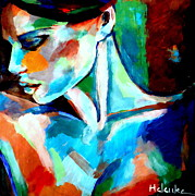 Original Artwork Painting Originals - Hush by Helena Wierzbicki