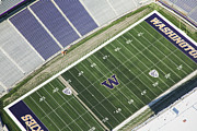 Self-knowledge Metal Prints - Husky Stadium At The University Metal Print by Andrew Buchanan/SLP