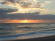 Marilyn Holkham Prints - Hutchinson Island Sunrise Print by Marilyn Holkham