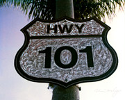 Coast Hwy Ca Art - Hwy 101 by Glenn McNary