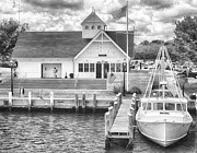 D700 Originals - Hyannis Coastguard BW01 by Jack Torcello