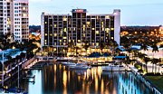Hyatt Regency Hotel Prints - Hyatt Regency Sarasota Print by William  Carson