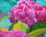 Nancy Jolley Art - Hydrangea 1 by Nancy Jolley