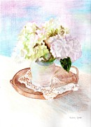 Linda Ginn - Hydrangeas and Lace