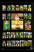 Fire Hydrants Prints - Hydrants Print by Mitchell Brown