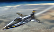 X-plane Framed Prints - Hypersonic Framed Print by Peter Chilelli