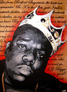 Biggie Framed Prints - Hypnotize Framed Print by Bobby Zeik
