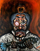 Toaster. Paintings - Hypnotoast by Kris Hallford