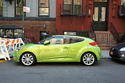 Allen Beatty Posters - Hyundai Veloster Poster by Allen Beatty