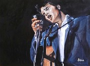 Elvis Presley Painting Originals - I Always Will by Annalise Kucan