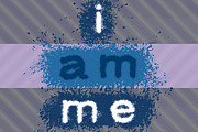 I Am Me Print by Aaron Hernandez