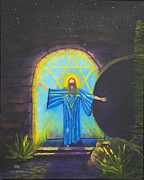 The Resurrection Of Christ Paintings - I Am the Resurrection by David Snyder