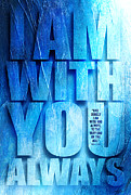 Chevon Prints - I Am With You - 2 Print by Shevon Johnson
