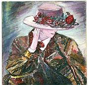 I Borrowed My Mother's Hat Print by Helena Bebirian