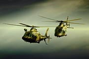 Military Aviation Art Photo Posters - I can see You tail Poster by Paul Job