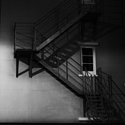 Fire Escape Metal Prints - I continue to search for who I am Metal Print by Constance Fein Harding