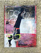 Dance Mixed Media Originals - I Dance The Wild Side by Donna Blackhall