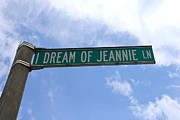 Tv Show Prints Prints - I Dream Of Jeannie Lane Print by Denise Mazzocco