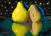 Dessie Durham Art - I Dream of Pears by Dessie Durham