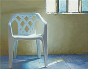 Stucco Paintings - I Dreamed I Was in Heaven Sitting Down by Michael Ward