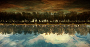 Surreal Landscape Framed Prints - I Forget What Eight Was For Framed Print by Whiskey Monday