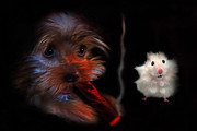 Puppy Digital Art - I Got This by Terril Heilman