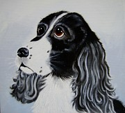 Setters Prints - I Have Eyes Only For You Print by Debra Campbell