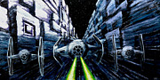 Death Star Metal Prints - I Have You Now Metal Print by Marlon Huynh