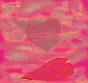 Blind Faith Prints - I Lay Down My Heart Print by Terri Johnson