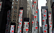Diane Lent - I Love NY in Times Square